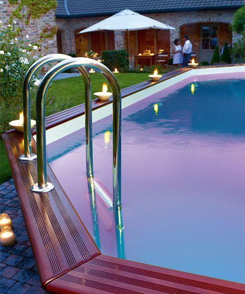 Een zwembad is g n impulsaankoop bezin vooraleer je een for Groot rond zwembad
