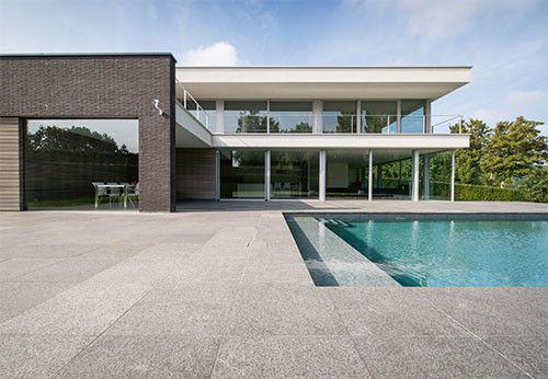Zwembadenplus vind alle zwembadbouwers belgi alle informatie over prijzen en aanleggen - Strand zwembad natuursteen ...