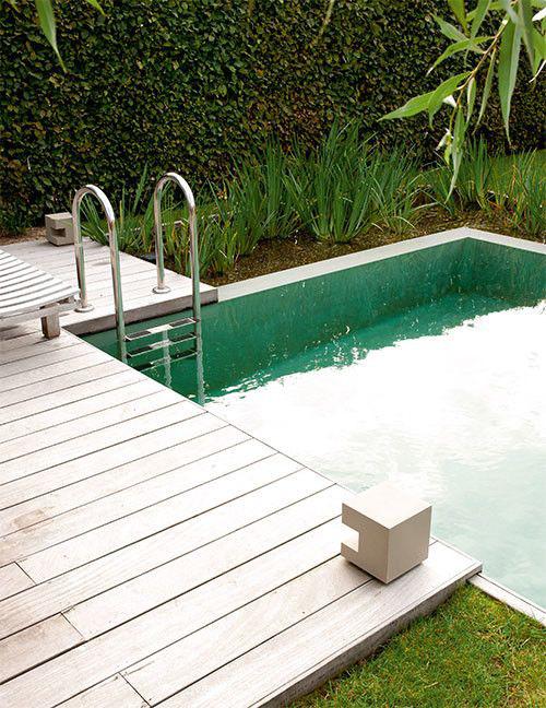Hoe groen kan uw zwembad zijn zwembadenplus for Eigen zwembad in de tuin
