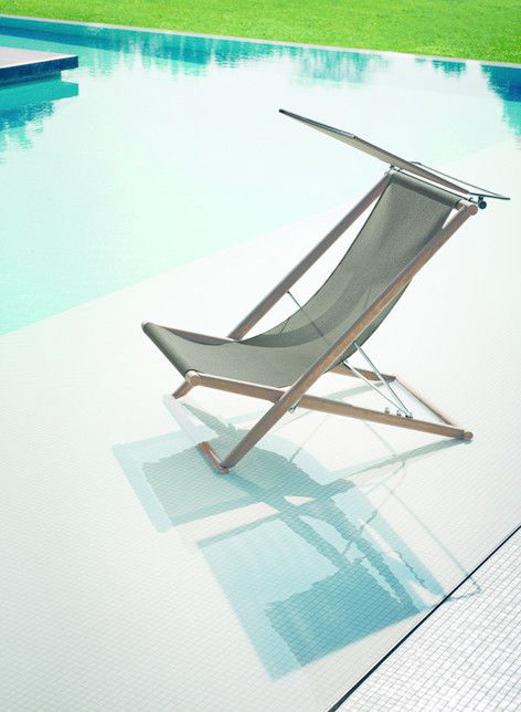 Strandstoel wordt beach chair deluxe