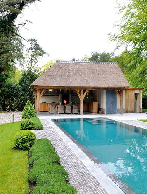 een knusse plek voor alle seizoenen zwembadenplus. Black Bedroom Furniture Sets. Home Design Ideas