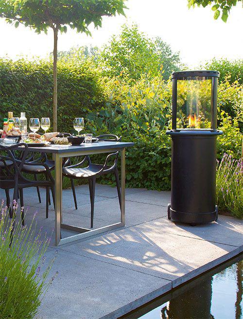 Langer buiten genieten met verwarmingselementen op je terras zwembadenplus - Terras van huis ...