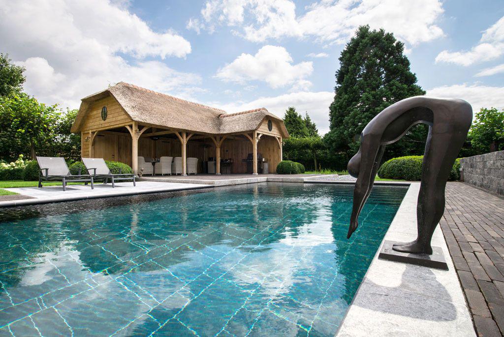 Zwembad van 39 t groene plan ecologische waterpret in for Eigen zwembad in de tuin
