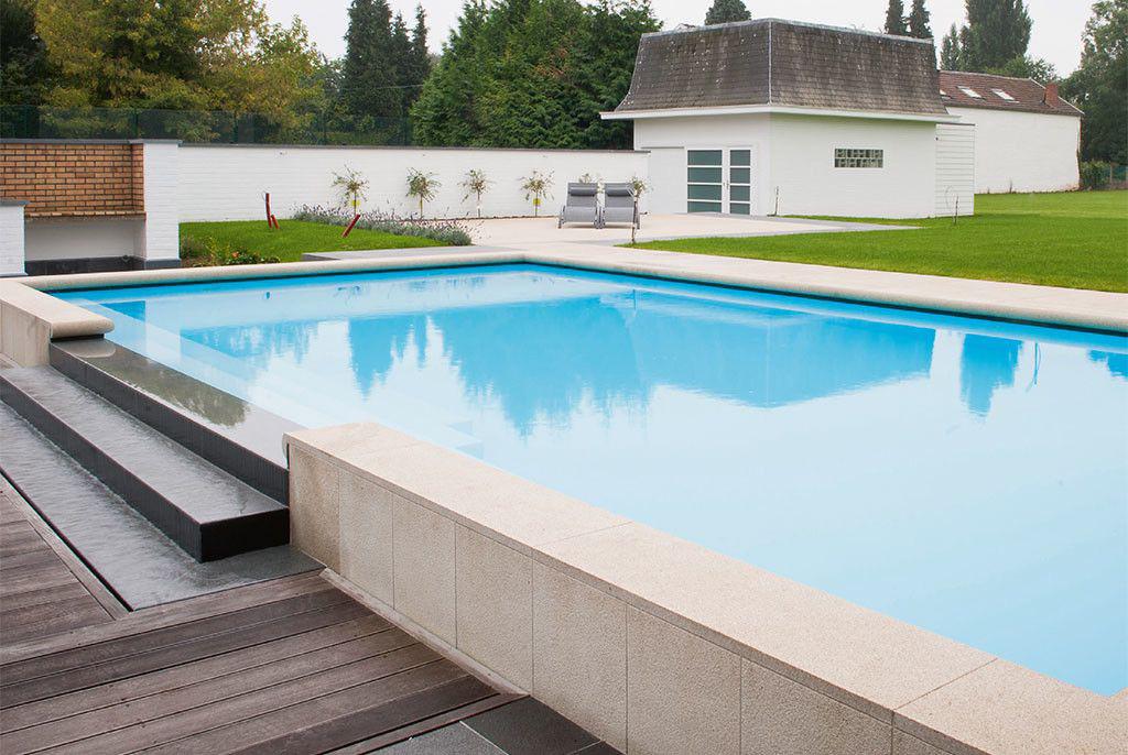 zwembad van piscines ondine overlooptrap zwembadenplus