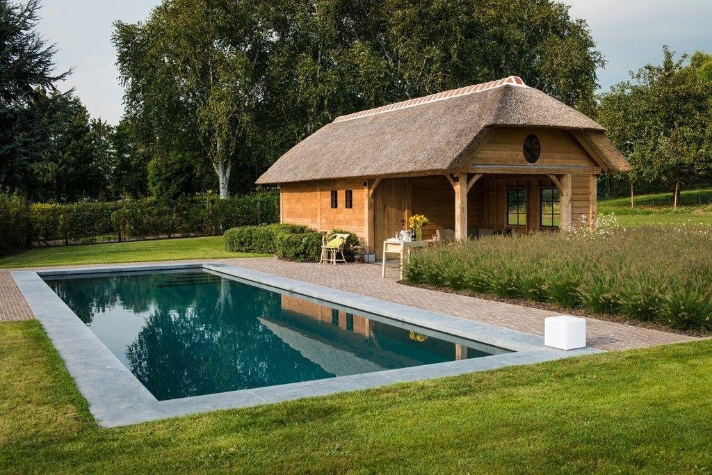 Zwembad van arte verde bvba poolhouse en zwembad perfect for Afmetingen zwembad tuin