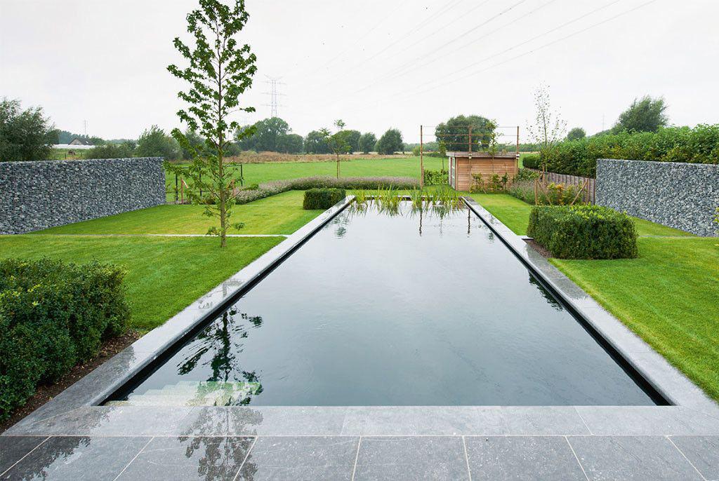 Zwembad van 39 t groene plan klassiek en mooi zwembadenplus for Zwemvijver afmetingen