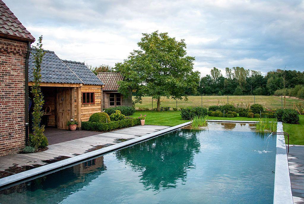 Realisatie van 39 t groene plan grandeur zwembadenplus for Zwembad zelfbouwpakket