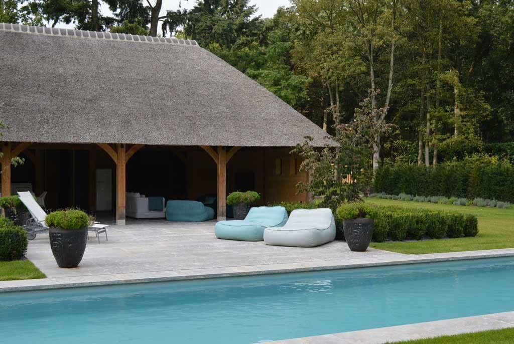 Zwembad van eddy van de kerkhof zwembad in combinatie for Afmetingen zwembad tuin