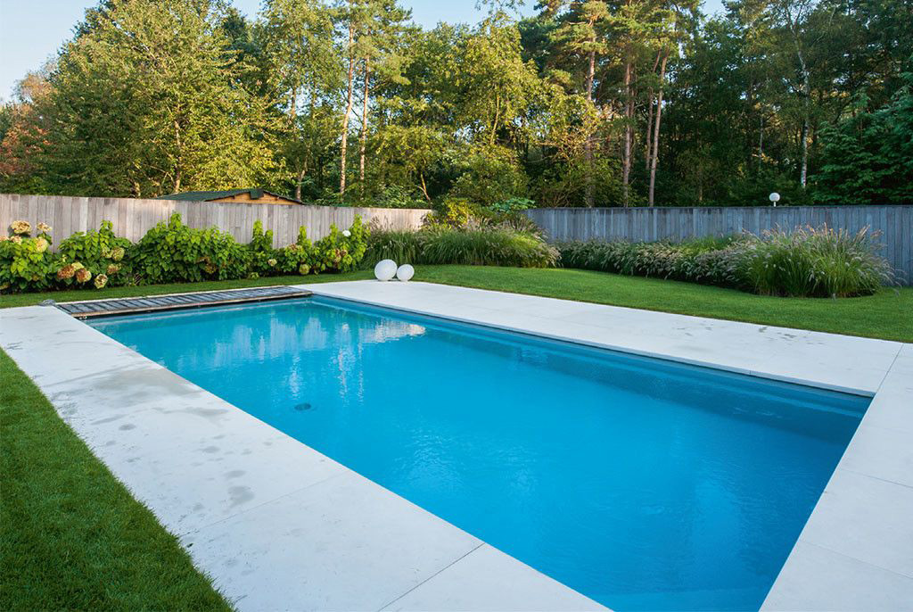 Zwembad van eddy van de kerkhof van ovaal tot for Rechthoekig zwembad met pomp