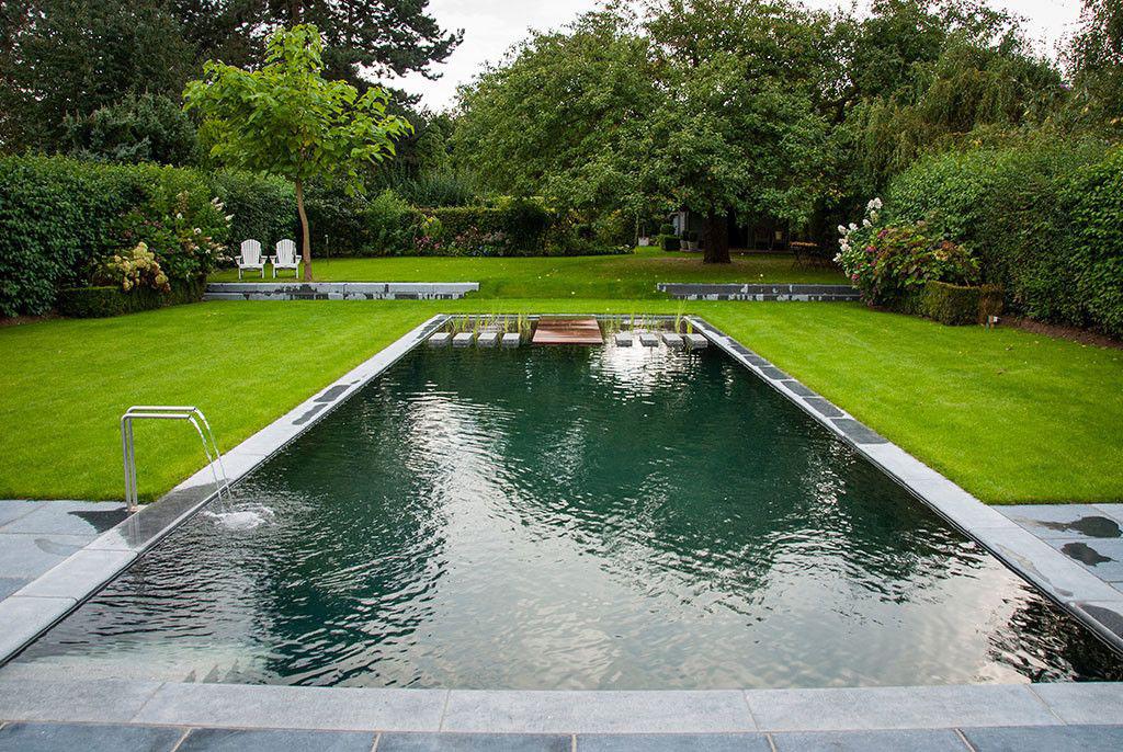 Zwembad van 39 t groene plan puur natuur zwembadenplus for Zwemvijver afmetingen
